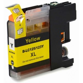 Brother LC 135XL Yellow Compatible Ink Cartridge