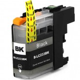 Brother LC 233 Black Compatible Ink Cartridge