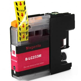 Brother LC 233M Magenta Compatible ink Cartridge