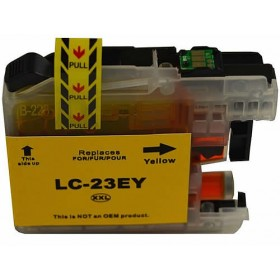 Brother LC 23E Yellow Compatible Ink Cartridge