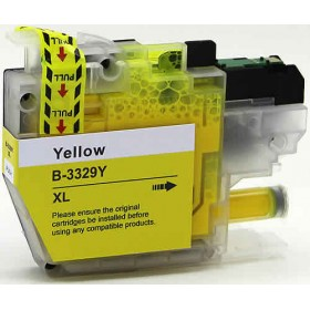 Brother LC 3329XL Yellow Compatible Ink Cartridge