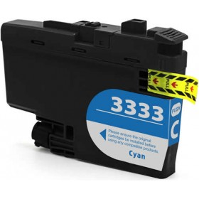 Brother LC 3333C Cyan Compatible Ink Cartridge