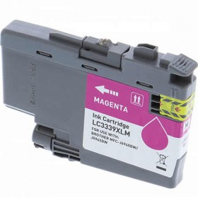 Brother LC 3339XL Magenta Compatible Ink Cartridge