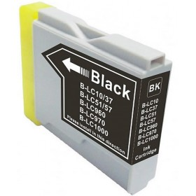 Brother LC 37BK Black Compatible Ink Cartridge