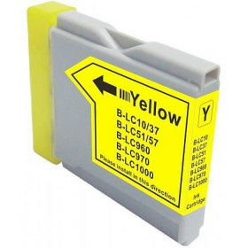 Brother LC 37Y Yellow Compatible Ink Cartridge