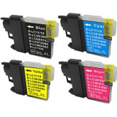 Brother LC 38 Compatible Value Pack