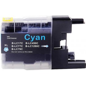 Brother LC 40-73-77XL Cyan Compatible Ink Cartridge