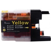 Brother LC 40-73-77XL Yellow Compatible Ink Cartridge