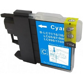 Brother LC38C Cyan Compatible Ink Cartridge