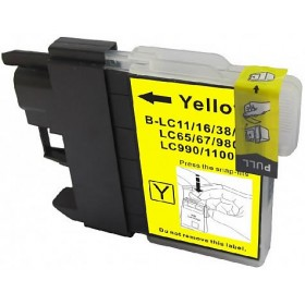 Brother LC38Y Yellow Compatible Ink Cartridge