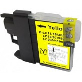 Brother LC39Y Yellow Compatible Ink Cartridge
