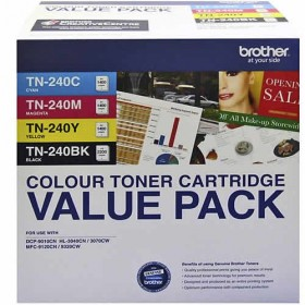 Brother TN 240 Genuine Value Pack