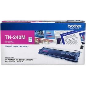 Brother TN 240M Magenta Genuine Toner Cartridge