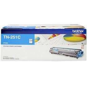 Brother TN 251 Cyan Genuine Toner Cartridge