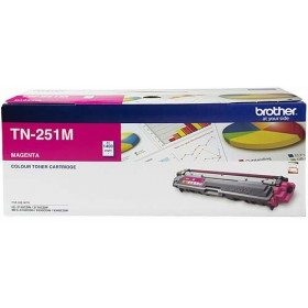 Brother TN 251 Magenta Genuine Toner Cartridge