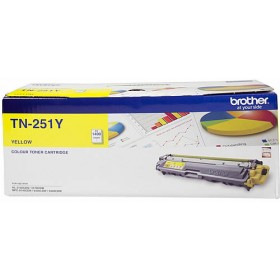 Brother TN 251 Yellow Genuine Toner Cartridge