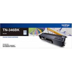 Brother TN 346BK Black Genuine Toner Cartridge