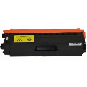 Brother TN 346Y Yellow Compatible Toner Cartridge