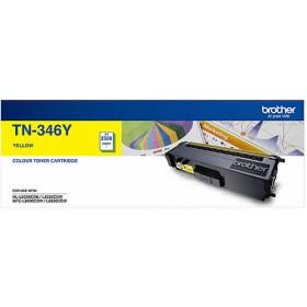 Brother TN 346Y Yellow Genuine Toner Cartridge