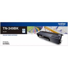 Brother TN 349BK Black Genuine Toner Cartridge