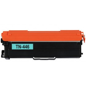 Brother TN 446 Cyan Compatible Toner Cartridge