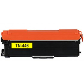 Brother TN 446 Yellow Compatible Toner Cartridge