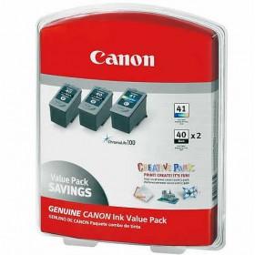 Canon 2x PG-40 / 1x CL-41 Black & Colour Value Pack