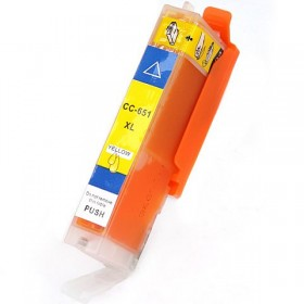 Canon CLI 651XL Yellow Compatible Ink Cartridge
