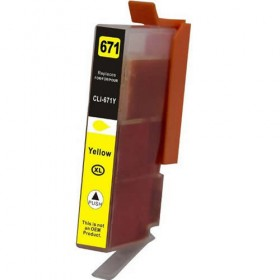 Canon CLI-671XL Yellow Compatible Ink Cartridge