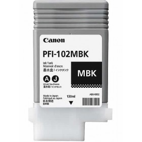 Canon PFI102MBK Matte Black Ink Cartridge