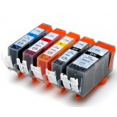 Canon PGI 525 / CLI 526 Compatible Value Pack