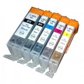 Canon PGI 650XL / CLI 651XL Compatible Value Pack