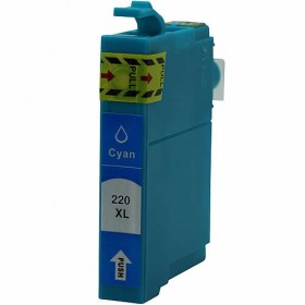 Epson 220XL Cyan Compatible Ink Cartridge