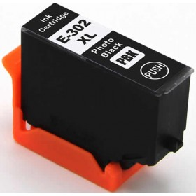 Epson 302XL Photo Black Compatible Ink Cartridge