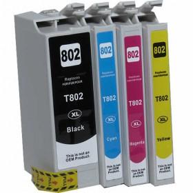 Epson 802XL Compatible Value Pack