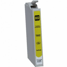 Epson 802XL Yellow Compatible Ink Cartridge