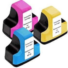 HP 02XL CMY Compatible Colour Pack