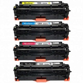 HP 128A Compatible Value Pack