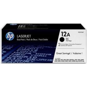 HP 12A Genuine Twin Pack