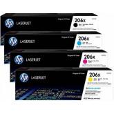 HP 206X Genuine Value Pack