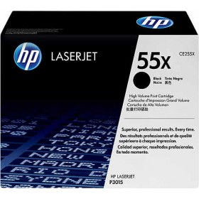 HP 55X Genuine Toner Cartridge (CE255X)