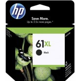 HP 61XL High Yield Black Ink Cartridge
