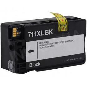 HP 711 Black Compatible Ink Cartridge ( 80ml )