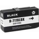 HP 711 Black Compatible Ink Cartridge