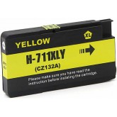 HP 711 Yellow Compatible Ink Cartridge