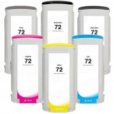 HP 72 Compatible Value Pack