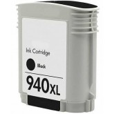 HP 940XL Black Compatible Ink Cartridge (C4906AA)