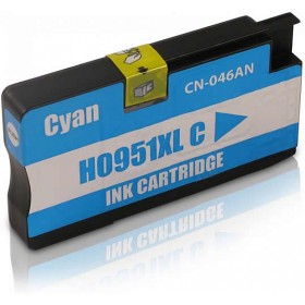 HP 951XL Cyan Compatible Ink Cartridge CN046AA