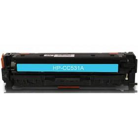 HP CC531A Cyan Compatible Toner Cartridge