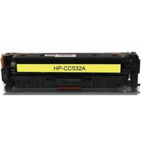 HP CC532A Yellow Compatible Toner Cartridge